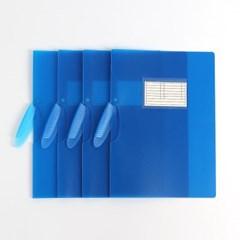 인덱스 클립파일 12p세트(블루)