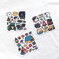 [비칼선] 미야오 캠핑 스티커
