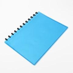 에이스 클리어 파일(20매) (블루)