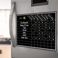 냉장고 자석 주간 스케줄표 블랙보드 ACC-5807 필카_(3212883)