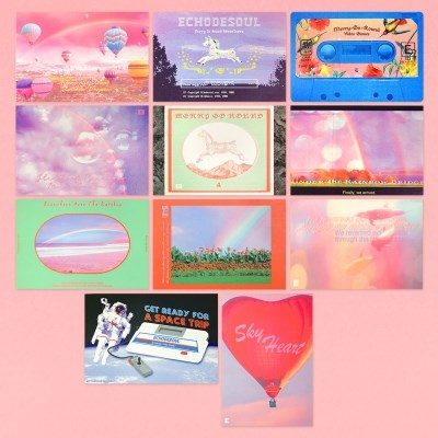 Merry Go Round - Postcard Series (11type)