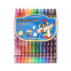 짱구 12색 슬라이더 색연필