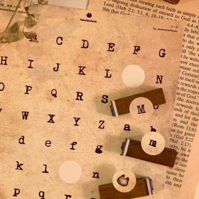 알파벳 스티커