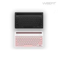 [와이즈핏] 무선 블루투스키보드 BW5001 - 태블릿 거치대기능