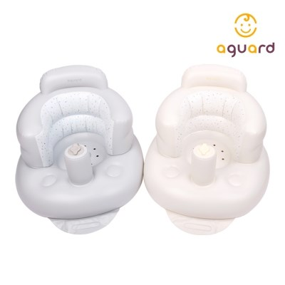 아가드 마시멜로 목받침 휴대용 소프트 의자 유아부스터