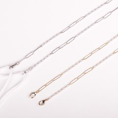 M.Edge pearl chain _ 2color (Gold / Silver) 마스크 스트랩