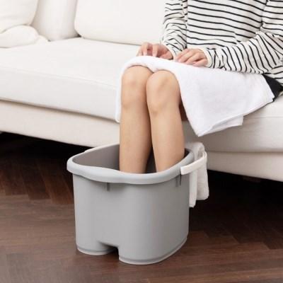 씨에스리빙 퓨어 풋케어 가정용 발족욕기 욕조기 바스켓통