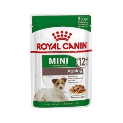 로얄캐닌 강아지사료 미니 에이징 파우치 85G