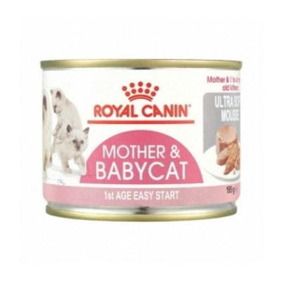 로얄캐닌 고양이 마더 앤 베이비캣 캔 195g