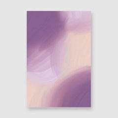 보라빛향기 엽서