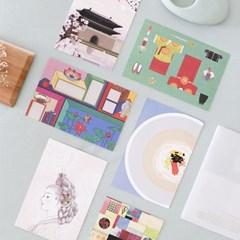 [istyle]Korean Minhwa Postcard Set-정(Still)
