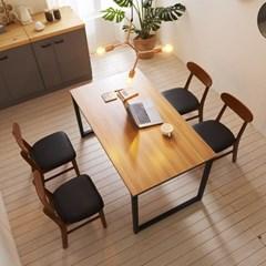 KUF 투게더 와이드 4인 LPM 식탁세트(의자)_(2103657)