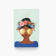 2021 Flower Crown Pocket 다이어리 플래너