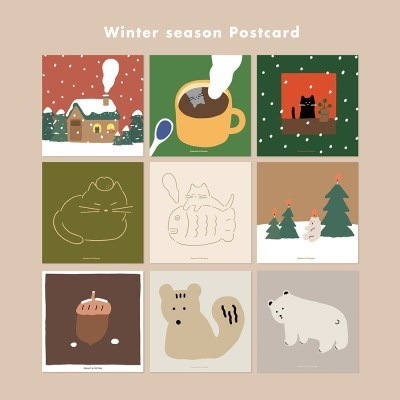 POSTCARD. 겨울 시리즈