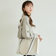 [13, 14인치 노트북가방] 웨이브백 M 아이보리