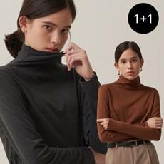 [단독][1+1] 히트 폴라 티셔츠
