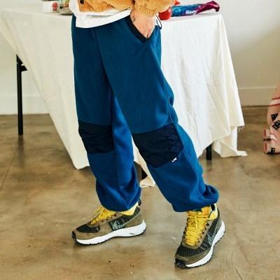 [프리키쉬빌딩] TODDLE FLEECE LONG PANTS ㅡ NAVY