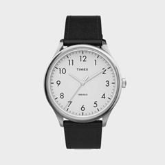 TIMEX 타이맥스 TW2T71800 남성시계 가죽밴드 손목시계
