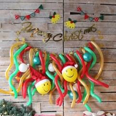 DIY 크리스마스 풍선가랜드 럭셔리세트 (골드)
