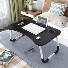 좌석 노트북 책상 접이식 미니 침대 베드 테이블 더쎈_(470063)