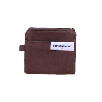 brownie card wallet (brown)