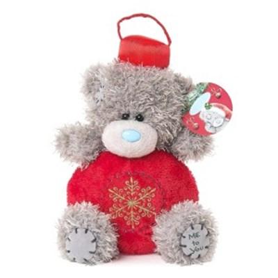 미투유 크리스마스 볼 플러시 베어-5in(12cm)_(100942116)