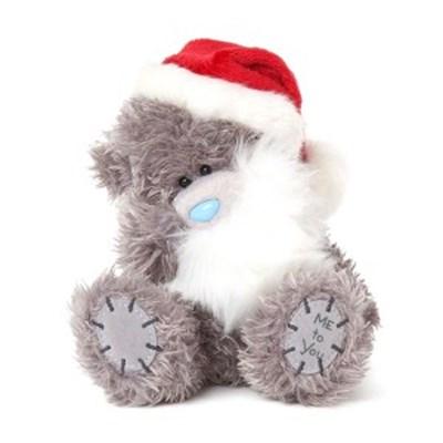 미투유 크리스마스 베어 모자 앤 수염-5in(12cm)_(100942115)