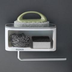 스몰랙 메탈걸이 다용도벽선반 미니선반 욕실 주방 정리 무타공
