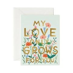 Love Grows Card 사랑 카드