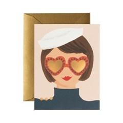 Heart Eyes Card 사랑 카드