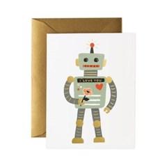 Robot Love Card 사랑 카드
