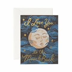 To the Moon and Back Card 사랑 카드