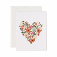 Floral Heart Card 사랑 카드