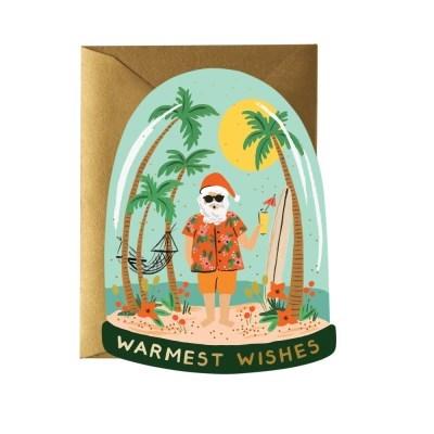 Warmest Wishes Card 크리스마스 카드