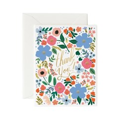 [Rifle Paper Co.] Wild Rose Thank You Card 감사 카드_(410648)