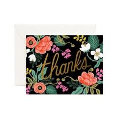 Birch Floral Thank You Card 감사 카드