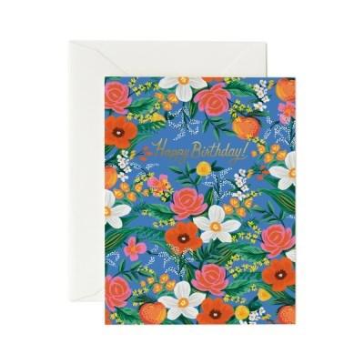 Orangerie Birthday Card 생일 카드