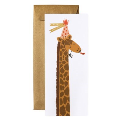 Giraffe Birthday No.10 Card 생일 카드