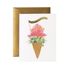 Ice Cream Birthday Card 생일 카드