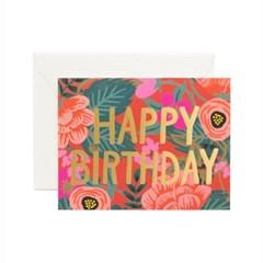 Poppy Birthday Card 생일 카드