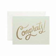 [Rifle Paper Co.] Timeless Congrats Card 축하 카드_(411311)