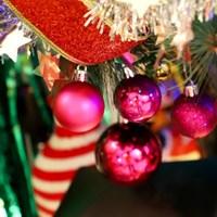 크리스마스 장식볼 오너먼트 4cm 24입 (푸치샤)_(301836155)