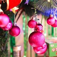 크리스마스 장식볼 오너먼트 6cm 16입 (푸치샤)_(301836153)