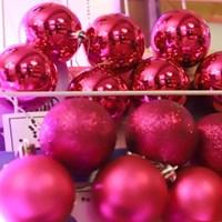 크리스마스 장식볼 오너먼트 8cm 8입 (푸치샤)_(301836152)
