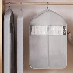 와이드 투명창 의류 옷 코트 양복 커버 덮개 (소)
