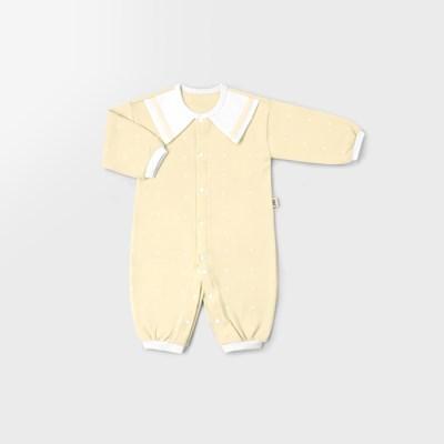 심플마린 신생아 실내우주복/북유럽아기옷_사계절용