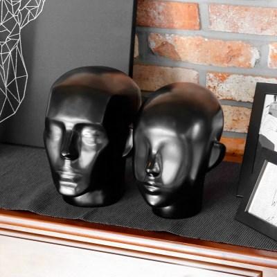 악세사리 모자 마스크마네킹 고급 FRP 여자두상 남자머리 얼굴모형