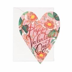 Heart Blossom Valentine Card 발렌타인 카드