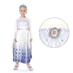 겨울왕국2 new엘사 화이트 드레스(악세사리set)_(100942176)