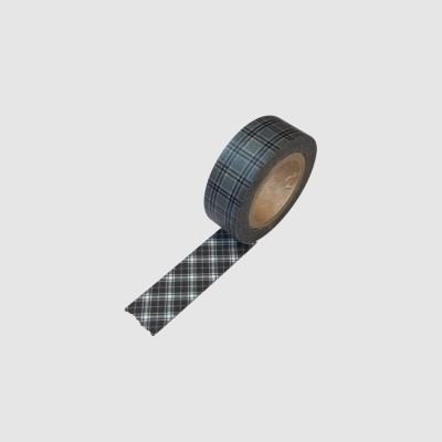 Gray Check Masking Tape